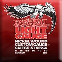 Ernie Ball 2208 Light Nickel Wound 11-52