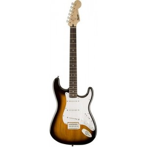 Squier Bullet Stratocaster w/ Trem, Brown Sunburst