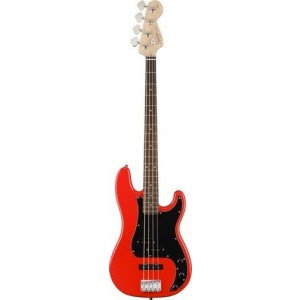 Squier Affinity Series Precision Bass PJ, Indian Laurel, Race Red