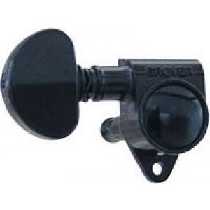 Grover  102BC, Rotomatics Machine Heads 3 A-Side - Black