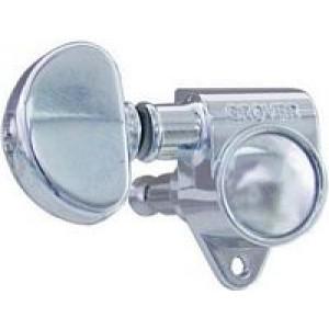 Grover 102C 3-A-Side Machine Heads - Chrome
