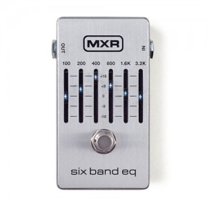 MXR M109S Six Band EQ - Silver