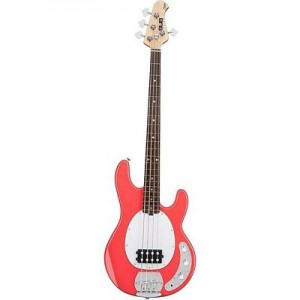 SUB RAY4 Bass Guitar Fiesta Red (Sterling by MusicMan)