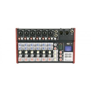 Citronic CSM-8 Compact Mixer With USB / Bluetooth