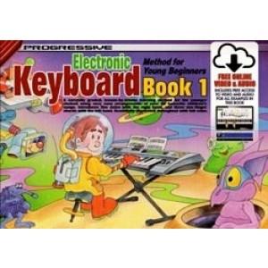 Progressive Electronic Keyboard Method For Young Beginners 1