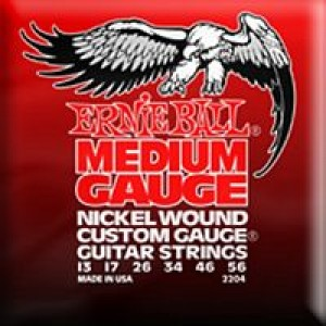 Ernie Ball 2204 Medium Nickel Wound