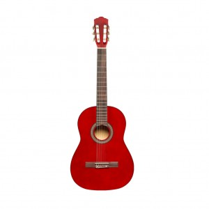 Stagg SCL50 3/4-NAT 3/4 Size Classical Guitar - Red