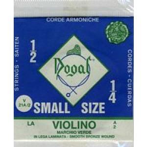 Dogal 1/4 - 1/2 Violin Single String A