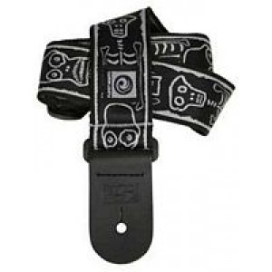 Planet Waves Joe Satriani Collection Straps - Skull And Bones