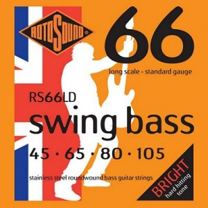 Rotosound RS66LD Swing Bass 66, Long Scale, Standard, 45-105