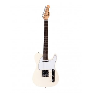 Aria 615 Frontier Electric Guitar Ivory