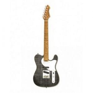 Aria 615 MK2 Nashville Electric Guitar Black Diamond