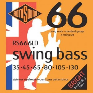 Rotosound RS665LD Swing Bass 66 5-Strings, Stainless Steel, 45-130