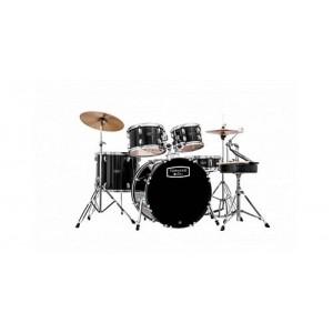 "Mapex Tornado 2216 Rock Fusion Drum Kit Black - 22"" Bass Drum"