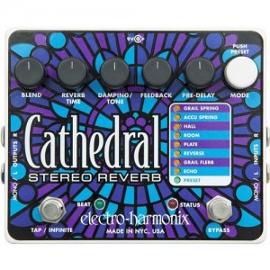 Electro Harmonix Cathedral Reverb Pedal