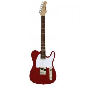 Aria 615 CA Frontier Electric Guitar (Candy Apple Red)