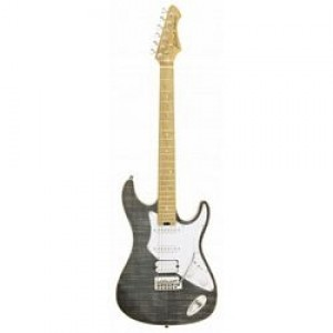 Aria 714 MK2 Electric Guitar - Black