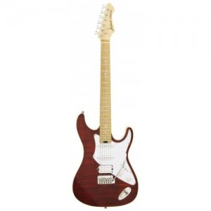 Aria 714 MK2 Electric Guitar - RBRD (Ruby Red)