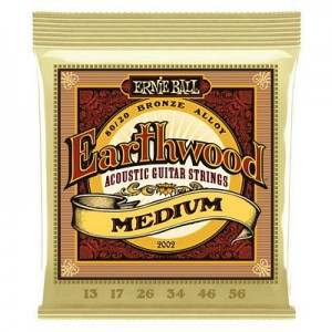 Ernie Ball 2002 Earthwood Medium 13-56
