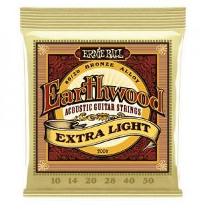 Ernie Ball 2006 Earthwood Extra Light 10-50