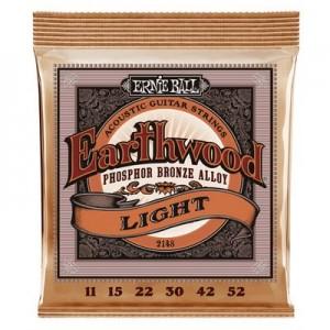 Ernie Ball 2148 Earthwood Phosphor Bronze Light 11-52