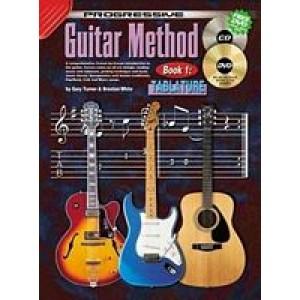 Prog Guitar Method Tab Bk1