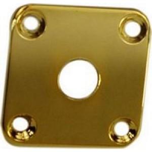LP Style Recessed Jack Skocket Plate - Gold