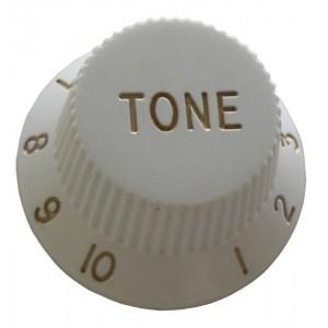 ST Type Tone Control Knob - White