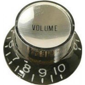 Hat Box Volume Knob Black