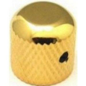 Dome Top TC/PB Style Knob With Allen Screw - Gold - 8258gd