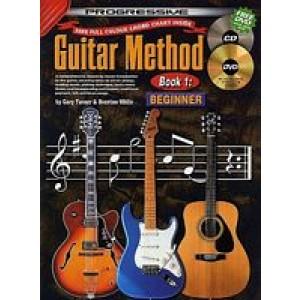 Progressive Guitar Method Book 1 Beginner