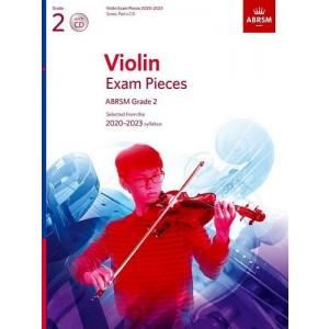 ABRSM: Violin Exam Pieces 2020-2023 Grade 2 With CD