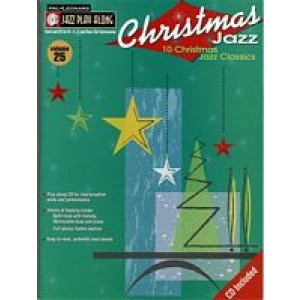 Hal Leonard Jazz Play Along: Volume 25 - Christmas Jazz