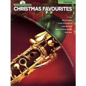 Instrumental Play-Along Christmas Favourites - Clarinet