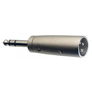 Stagg ACXMPMSH 6.3mm Stereo Jack - Male XLR Adaptor