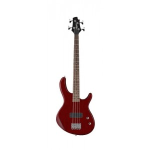 Cort Action Junior Bass Guitar - Open Pore Black Cherry