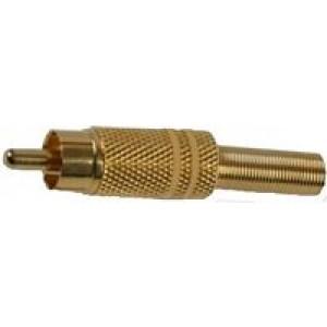Pro Signal AV15340 Adaptor, Phono Plug, Gold -  PSG01792