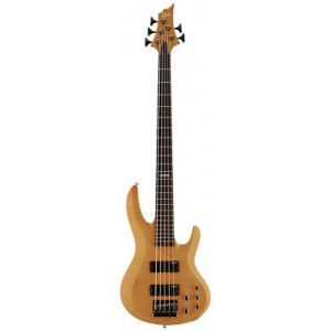 LTD B-155DX-HN 5-String Bass - Honey Natural