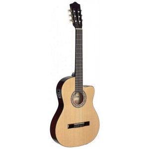 Stagg C546TCE-N Electro-Acoustic Classical Guitar - Natural
