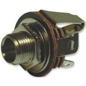 "6.3mm 1/4"" Stereo Open Jack Socket"