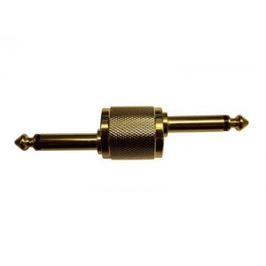 Stagg ACPPDH Male to Male 6.3mm Jack Adaptor Cranked