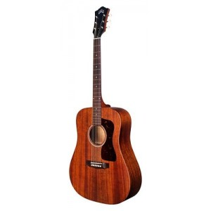 Guild D-20 NAT All Solid Mahogany - Dreadnought (Inc. Hardcase)