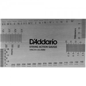 D'Addario Planet Waves String Height Gauge