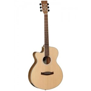 Tanglewood DBT SFCE PW LH Discovery Superfolk Cutaway Left Handed Electro Acoustic