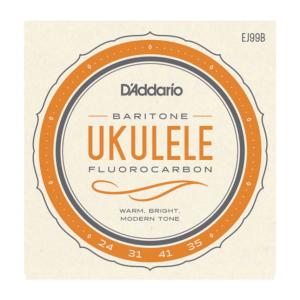 D'Addario EJ99B Pro-Arté Fluorocarbon Ukulele Strings, Baritone