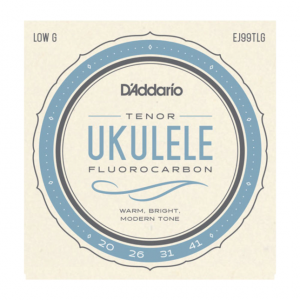 D'Addario EJ99TLG Pro-Arté Fluorocarbon Ukulele Strings, Tenor Low G