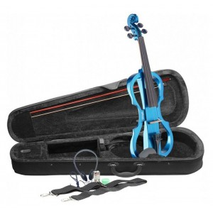 Stagg Electric Violin Outfit - Blue