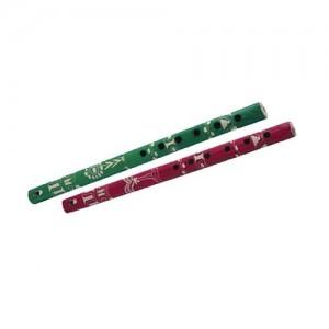 coloured peruvian flute