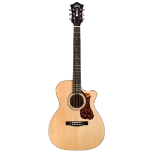 Guild OM-140CE Natural Westerly Electro-Acoustic Guitar with Gig Bag