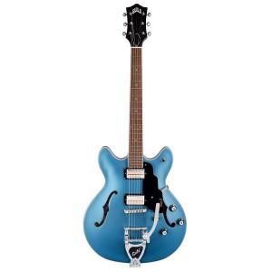 Guild Starfire-1 Double Cutaway W/Vibrato - Pelham Blue